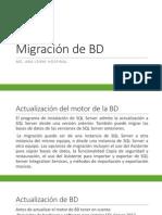 Migración de BD