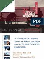 01o La Prevencion Lesiones Graves y Fatales
