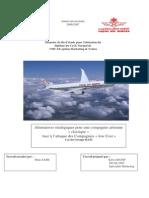 90834791 Alternatives Strategiques Pour Une Compagnie Aerienne « Classique » Face a l'Attaque Des Compagn
