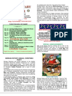 Moraga Rotary Newsletter- Dec 9 2014