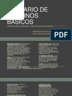 CLASE 1 Glosario Basico 02.12.14