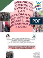 MOTIVAR LA PARTICIPACIÓN COMUNITARIA A TRAVES DE LA GRAN MISION VIVIENDA VENEZUELA
