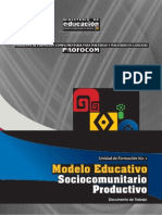 1 Modelo Educativo Sociocomunitario Productivo