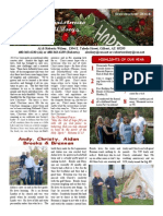 Wilsey Christmas 2014 Newsletter
