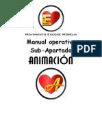 Manual Operativo - Animación
