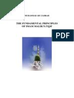 Fundamental Principles Imam Malik Fiqh