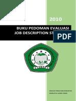 Buku Pedoman Evaluasi Job Description Stikes Nu Tuban