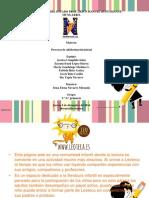 presentacion producto final procesos de alfabetizacion producto numero 5