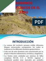 Dominios Geotécnicos en El Perú