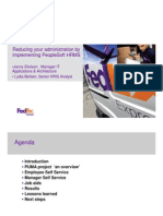 Hr Related Slides Fedex