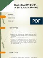 Implementacion de Un Tecnicentro Automotriz