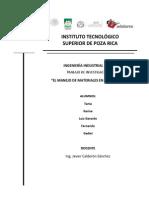 20 Principios Del Manejo de Materiales SAMS CLUB