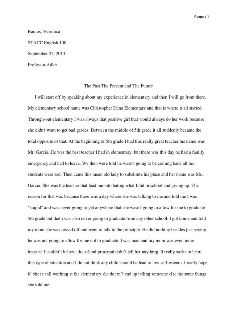 My car essay