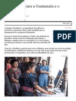 Da Rocinha Para a Guatemala e o Mundo - 17-11-2014 - Mercado - Folha de S