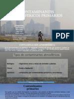 contaminantes Atmosfericos Primarios