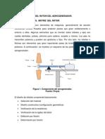 Cálculo y Diseño Del Eje Motriz Del Rotor Del Aerogenerador