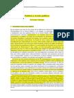 Vallespín, F. Política y Teoría Política