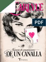 Liz Carlyle - Serie Familia Neville 03 - Nunca te enamores de un canalla.epub