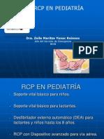 Pediatria-RCP Niños Con Soporte Vital Avanzado