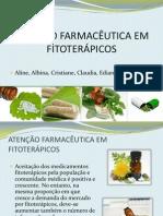Slide Satenção Farmacêutica Em Fitoterápicos