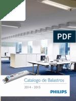 Catalogo Balastros 2014 11 Marzo