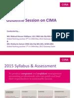 CIMA Presentaton Slide 2015