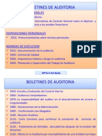 Boletines de Auditoria