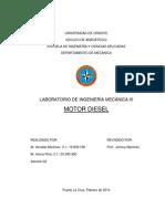 Informe Laboratorio III Motor Diesel
