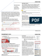 PowerPoint 2010 - Animations