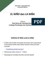 EL NIÑO dan La NIÑA
