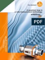 Ifm Efector Mid Flow Meter Brochure 2013