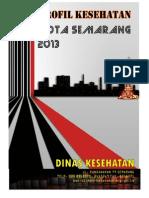 Profil Kesehatan Kota Semarang 2013