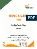 PresentacionPDF 102609 Servicios Al Cliente