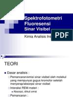 4.Spektrofotometri fluoresensi