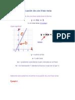 Ecuaciónes Lineales