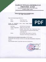 Surat Keterangan Sementara Utk STR