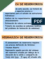 Hidráulica de Reservorios