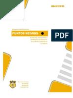 Criterios Técnicos Para Identificación Puntos Negros de Accidentes de Tránsito en La Region-2014