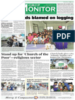CBCP Monitor Vol. 18 No. 25