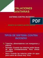 Sistema Contra Incendio - Sesión 14