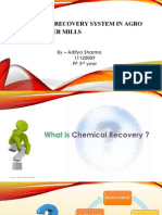 Chemical Recovery System in Agro Based Paper Mills