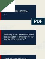 pres debate
