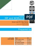 Imf & World Bank Explorer)