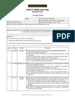 Lesson Plan-reflection #3