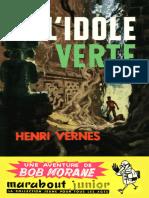 [Bob Morane-024]L'Idole Verte(1957).French.ebook.alexandriZ