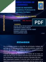 Tonelaje Ley de Corte-diapositivas