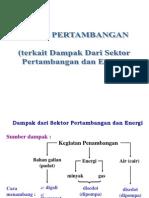 Amdal Sektor Pertambangan 2014 Diktat