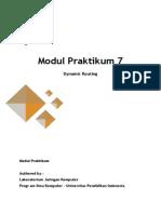 Modul 7 - Dynamic Routing