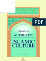 Towards an Authentic Islamic Culture