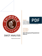Chipotle SWOT Analysis 2014